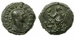 Ancient Coins - EGYPT.ALEXANDRIA.Probus AD 276-282.Billon Tetradrachm, struck AD 278/279.Reverse.Eirene standing.