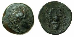 Ancient Coins - SELEUCID EMPIRE.ANTIOCH.Tryphon C.141-138 BC.AE.