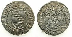 World Coins - ITALY.AQUILEA.Antonio I Panciera AD 1395-1402.AR.Denaro.