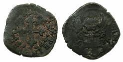 World Coins - ITALY.SAVOY.Victor Amadeo I AD 1630-1637.AE.3 Denari 1635
