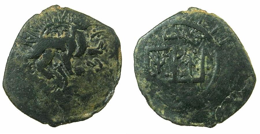 World Coins - ISLAMIC.AQ QOYNULU.Anonymous issue circa 14th cent AD.