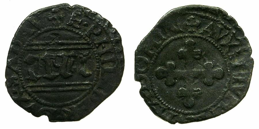 World Coins - ITALY.SAVOY.Emanuele Filiberto as Duke 1553-1580.Billon Quarto di Grosso.****Unpublished Type in MIR ****