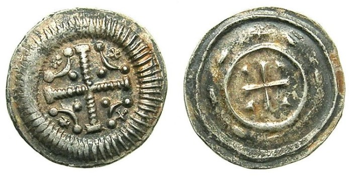 Ancient Coins - HUNGARY.Anonymous issue..AR.Dinar.12th Cent AD