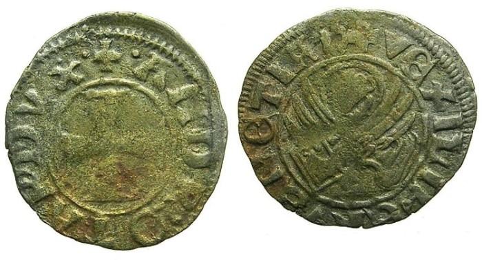 Ancient Coins - CRUSADER.GREECE under VENICE.Andrea Contarini AD 1367-1382.Bi.Tornesello.