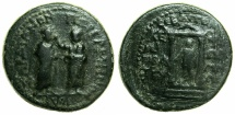 Ancient Coins - PERGAMUN ALLIANCE WITH SARDIS.Augustus  27BC-AD 14.AE.21.5mm.Struck under Kephalion, Grammateus.