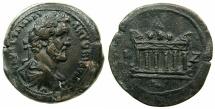 Ancient Coins - EGYPT.ALEXANDRIA.Antoninus Pius AD 138-161.AE.Drachma, struck AD 153/54. ~#~. Altar of CAESAREUM.