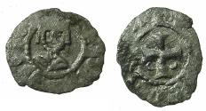 World Coins - CILICIAN ARMENIA.Levon V Lusignan AD 1374-1375.Billon Obol. Mint of SIS.