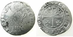 World Coins - CRUSADER STATES.CYPRUS.Henry II AD 1285-1324.AR.Gros Gand.Series 1B.Obverse. Cross in left field.