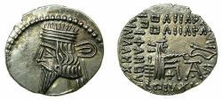 Ancient Coins - PARTHIA.Pacorus I AD 78-120.AR.Drachma.Mint of EKBATANA.