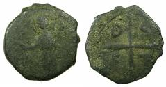 World Coins - CRUSADER STATES.ANTIOCH.Tancred AD 1104-1112.AE.Follis, 3rd Type.