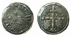 World Coins - CROATIA ( SLOVENIA ) under HUNGARY.King Stephen V AD 1270-1272 with Ban Joachim Pectari AD 1270-1272.AR.Banovac.