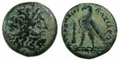 Ancient Coins - PTOLEMAIC EMPIRE.PHOENICIA:TYRE.Ptolemy III Euergetes I 247-220 BC.AE..AE.23.3mm