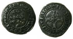 World Coins - FLANDERS.Philip The Fair AD 1482-1506.AE.Double Mite ( 1490 Ghent revolt).