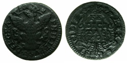 World Coins - ITALY.SICILY.Philip V King of Spain 1701-1746, king of SICILY 1701-1713.AE.Grano 1701. Mint of PALERMO