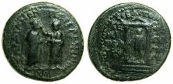 Ancient Coins - PERGAMUN ALLIANCE WITH SARDIS.Augustus  27BC-AD 14.AE.21.5mm.Struck under Kephalion, Grammateus.