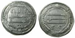 World Coins - ABBASID CALIPHS. al-Rashid 170-193H ( AD 786-809 ).AR.Dirhem.dated 185H. Mint: Medinat al Salam ( City of Peace ).