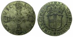 World Coins - ITALY.SAVOY.Vittorio Amadeo II, duke of Savoy 1680-1730.Billon.15 Soldi.1692.Mint of TURIN.***Exceptional grade for issue ****