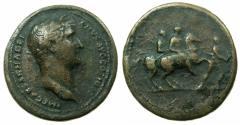 Ancient Coins - ROME.Hadrian AD 117-138.AE.Medallion, 'Paduan' after the Roman original.