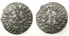 World Coins - ARMENIA, Cilician kingdom of. Levon I AD 1198-1219.AR.Tram. Class IV.