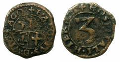 World Coins - MALTA.Alof de Wignacourt AD 1601-1622.AE.3 Piccioli.N.D.