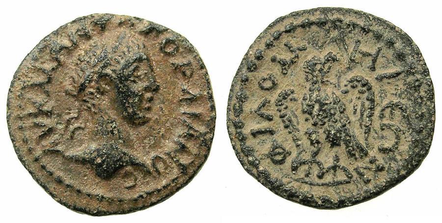 Ancient Coins - PHRYGIA.PHILOMELIUM.Gordian III AD 238-244.AE.16.4mm. Reverse. Eagle.