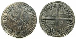 World Coins - NETHERLANDS.County of HOLLAND. William VI of Beieren AD 1404-1417.AR.Groat.Issue of 1411.