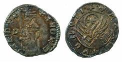 World Coins - ITALY.VENICE.Andrea Contarini AD 1368-1382.AR.Soldino 2nd Type. Sigla D