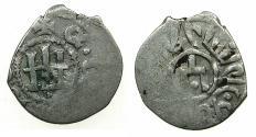 World Coins - ITALY.CAFFA ( Theodosia ). Genoese colony.AR.Bi-lingual Asper.circa 15th cent AD.