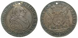 World Coins - PERU, under SPAIN.Charles III 1759-1788.AR.Proclamation medal. 1760. Mint of LIMA.