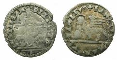 World Coins - VENICE.Anonymous issue.Billon Gazzetta ( 2 Soldini ).Issued by decree 12th September 1565.