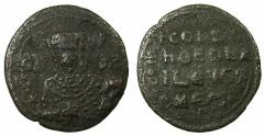 Ancient Coins - BYZANTINE EMPIRE.Constantine VII Porphyrogenitus AD 913-959.AE.Follis.Mint of CONSTANTINOPLE