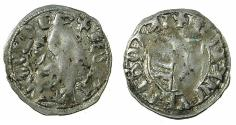 World Coins - ROMANIA.VOIVODES OF WALLACHIA. Dan I 1383-1386.Denier. Sigla W