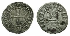 World Coins - CRUSADER GREECE.Principality of ACHAIA.Philip of Savoy AD 1301-1307.Bi.Denier.Type.PS1.Mint of CORINTH.