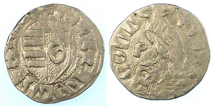 Ancient Coins - ROMANIA.VOIVODES OF WALLACHIA.Radu I 1377-1383.Denier
