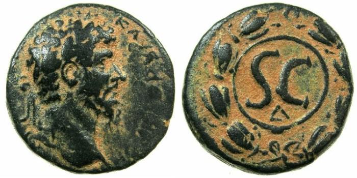 Ancient Coins - SYRIA.SELEUCIS AND PIERIA.ANTIOCH.Lucius Verus AD 161-180.AE.25mm.