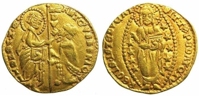 Ancient Coins - ITALY.VENICE.Antonio Venier AD 1382-1400.AV.Ducat.