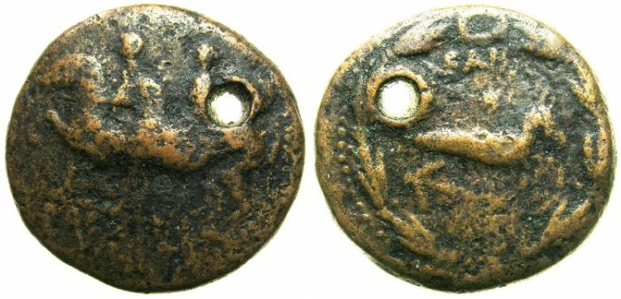 Ancient Coins - COMMAGENE.Epiphanes and Callinicus,AD 72.//// -Space filler- ////
