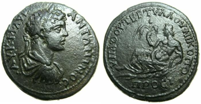 Ancient Coins - MOESIA INFERIOR.NIKOPOLIS AD ISTRUM.Caracalla Augustus AD 198-211.AE.