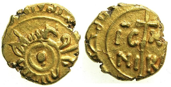 Ancient Coins - ITALY.SICILY.William I AD 1154-1166.AV.Tari.Mint of MESSINA.