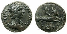 Ancient Coins - MYSIA.PARIUM.Julia Paula Augusta AD 219-220.AE.21.9mm. ~#~.Capricorn.