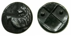Ancient Coins - The Thracian Chersonese.circa 480-350 BC.AR.Hemi drachma.