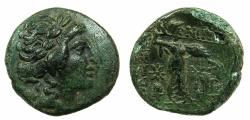 Ancient Coins - THESSALY.Thessalian league.Late 2nd to mid 1st BC.AE.Trichalkon.