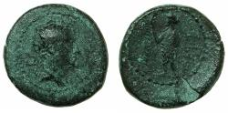 Ancient Coins - PHOENICIA.MARATHOS.Ptolemy IV Philopator 201-224 BC.AE.21.1mm. Ptolemy as Hermes.