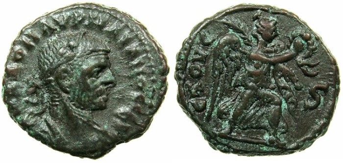 Ancient Coins - EGYPT.ALEXANDRIA.Aurelian AD 270-275.Billon Tetradrachm, struck AD 274/275.
