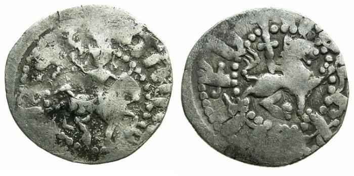 Ancient Coins - ARMENIA.Gosdantin III AD 1344-1363.AR.Takvorin.Mint of SIS.