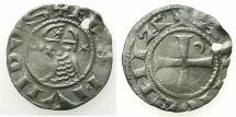 World Coins - CRUSADER STATES.Principality of ANTIOCH.Bohemond III or IVc.1163-1233.Bi.Denier.class O.