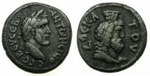 Ancient Coins - EGYPT.ALEXANDRIA.Antoninus Pius AD 138-161.Billon Tetradrachm, struck AD 145/46.