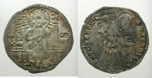 World Coins - ITALY.VENICE.Antonio Venier 1382-1400.AR.Grosso.2nd type.Sigla M