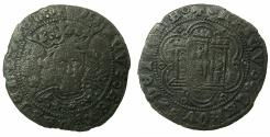 World Coins - SPAIN.CATILE AND LEON.Henry IV AD 1454-1474.AE.Quarto.Mint of SEVILLE.