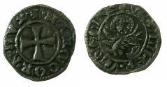 World Coins - CRUSADER.GREECE under VENICE.Marco Corner AD 1365-1368.Bi.Tornesello